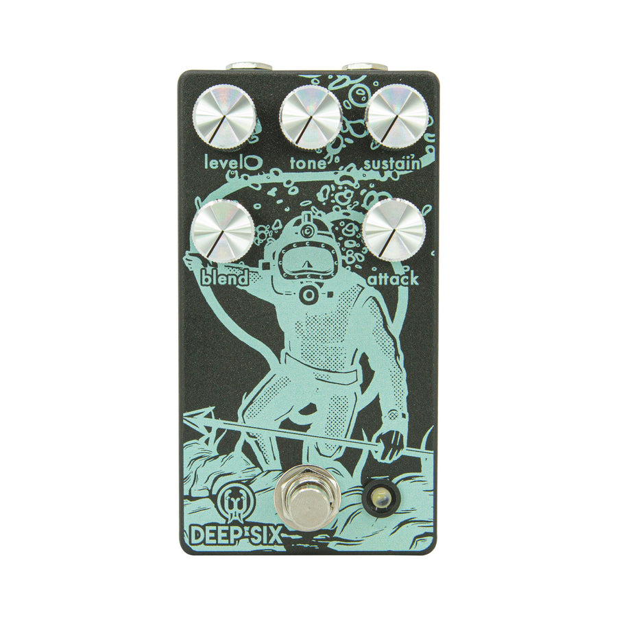 Deep Six Compressor V3 - Limited Black/Seafoam