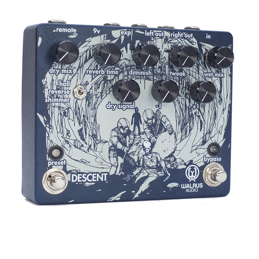 Descent Reverb/Octave Machine - Open Box
