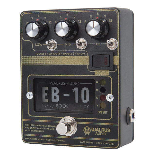 EB-10 Preamp // EQ // Boost