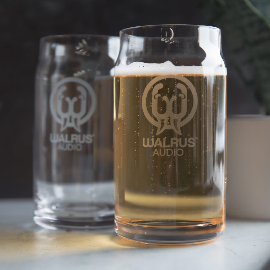 Walrus Audio Etched Logo Glass