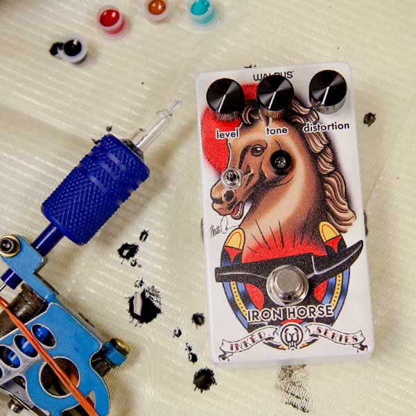 Iron Horse LM308 Distortion - INKED SERIES