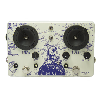 Janus Fuzz/Tremolo with Joystick Control - BLEMISHED