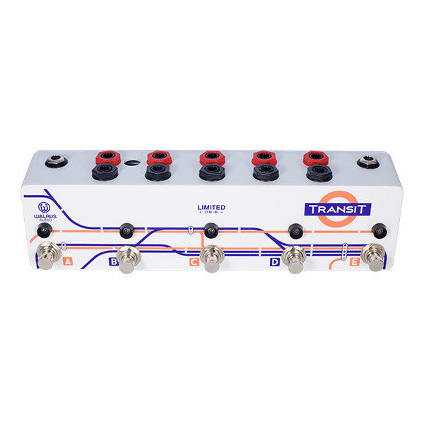 Limited Edition Transit True Bypass 5 Button Switcher