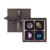 4 Piece Hand-Painted Chocolate Box