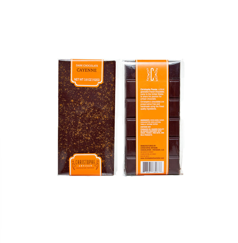 Dark Chocolate Cayenne Bar