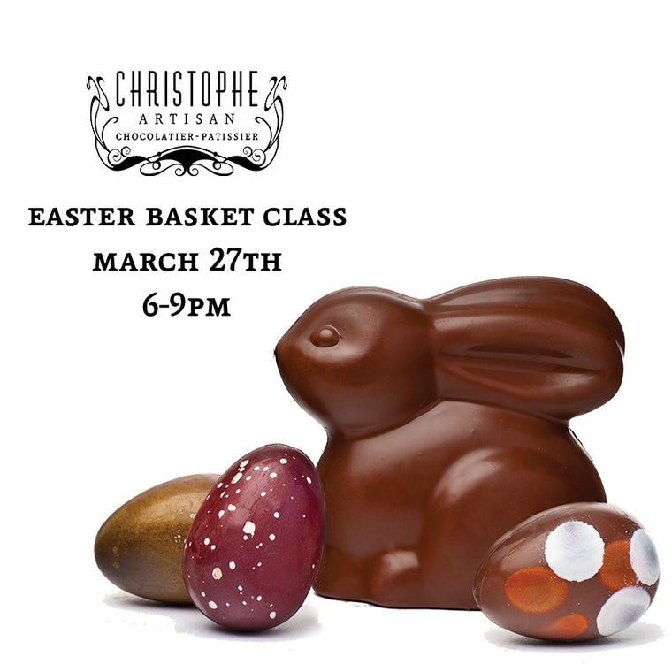 Easter Basket Class-March 27th 6-9pm