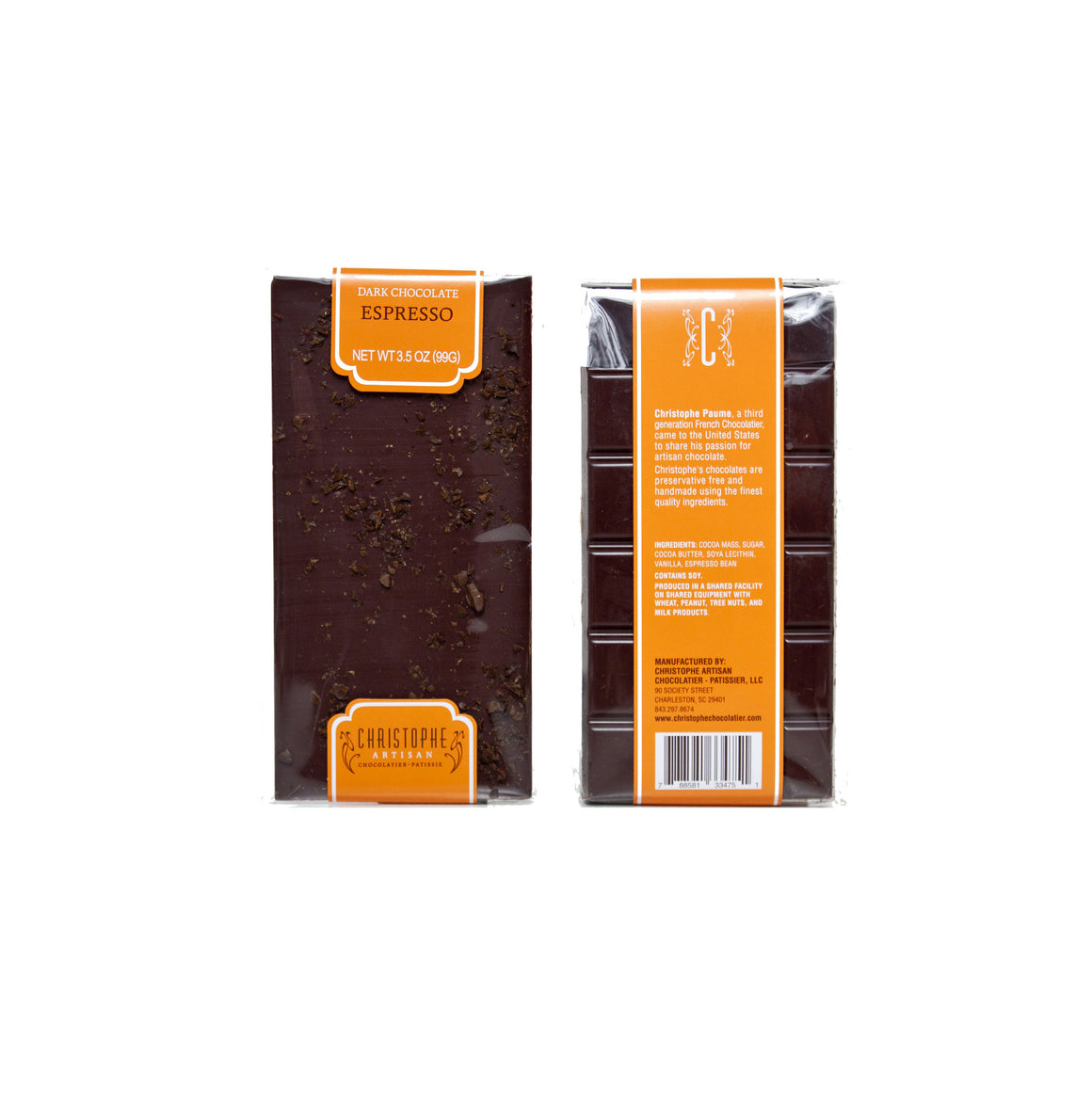 Dark Chocolate Espresso Bar