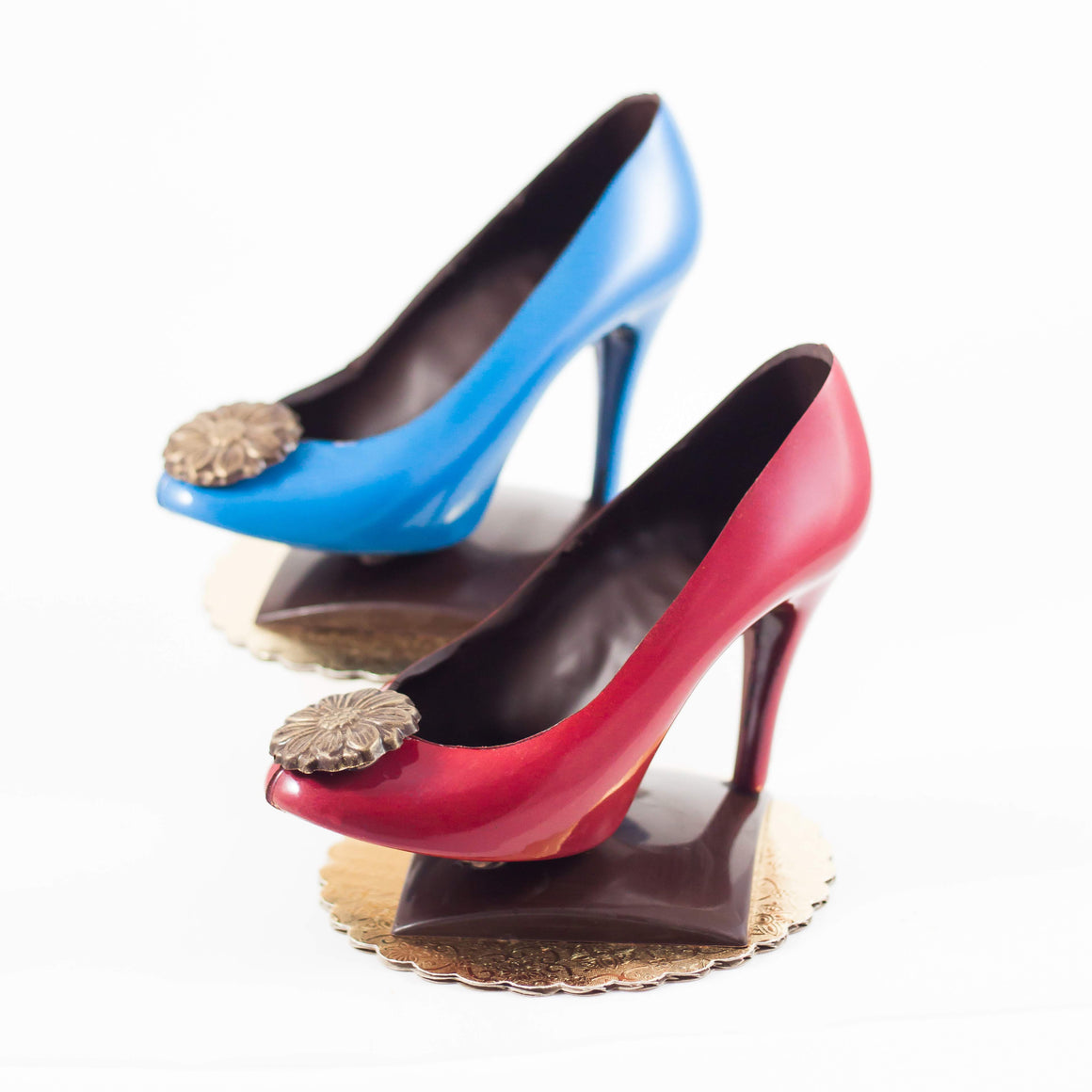 Chocolate High Heels