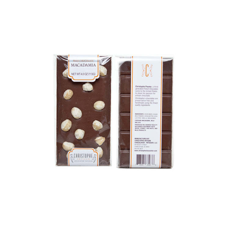 Milk Chocolate Macadamia Bar