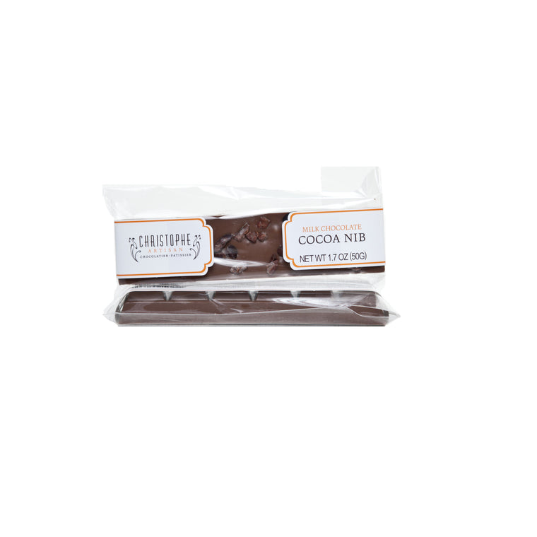 Mini Milk Chocolate Cocoa Nib Bar