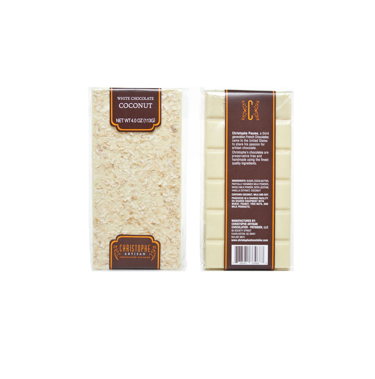 White Chocolate Coconut Bar