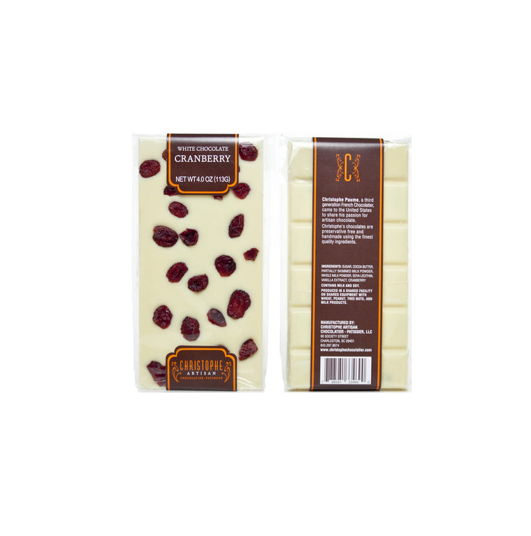 White Chocolate Cranberry Bar