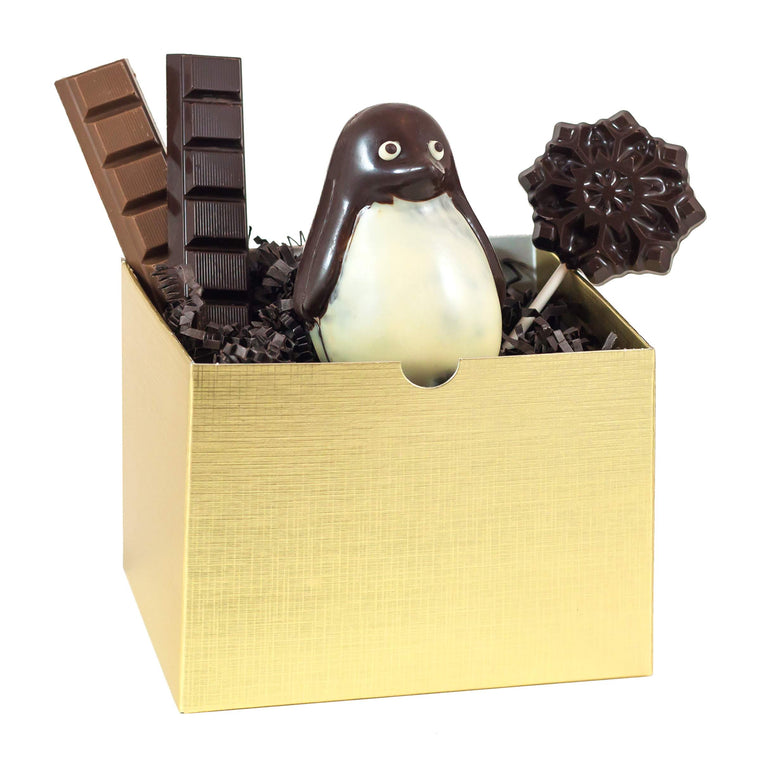 Small Gift Box with Penguin