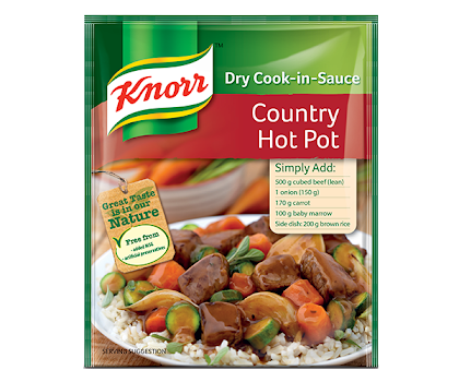 Knorr Country Hot Pot Dry Cook In Sauce