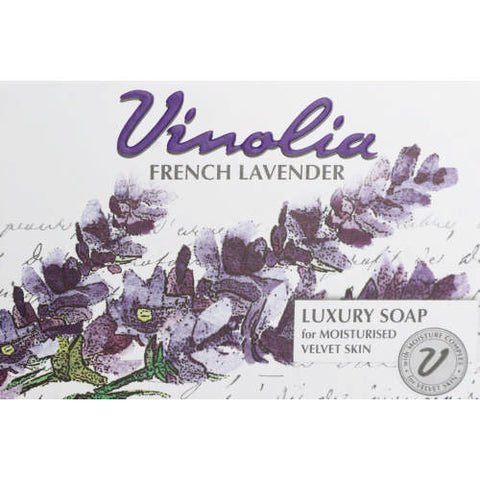 Vinolia Luxury Body Soap French Lavender 125g