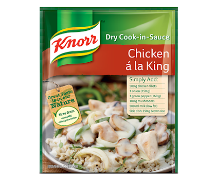 Knorr Chicken a La King Dry Cook in Sauce