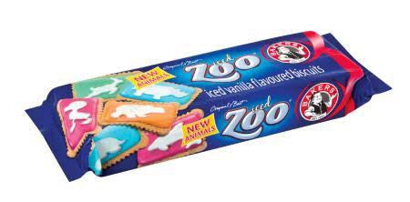 Bakers Iced Zoo Biscuits
