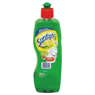 Sunlight Dishwashing Liquid Lemon 100 400ml