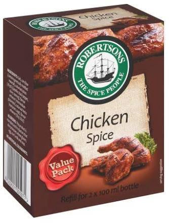 Robertsons Chicken Spice Refill 160g
