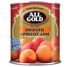 All Gold Apricot Jam Smooth 450g