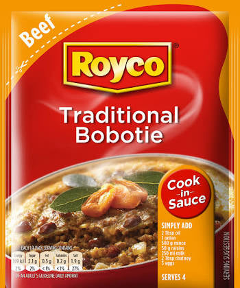 Royco Traditional Bobotie Dry Cook In Sauce