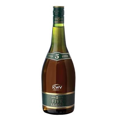 KWV 5 Year Old Brandy 750ml