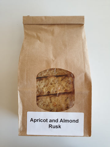 Apricot and Almond Rusk