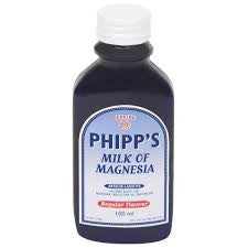 Phipp's Milk of Magnesia Regular Flavour 100ml