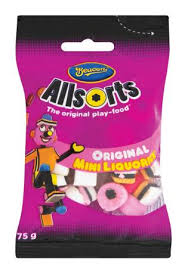 Beacon Allsorts Original Mini Liquorice 75g