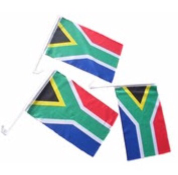Car Flag - South Africa