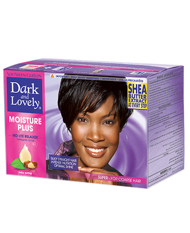 Dark&Lovely Moisture Plus No-Lye Relaxer Kit Super