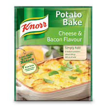 Knorr Potato Bake Cheese and Bacon Flavour