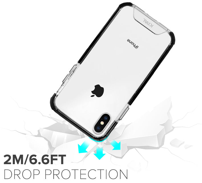 iGuard FlexShield Case for iPhone Xs and Xs Max with 2 Meter Drop Protection