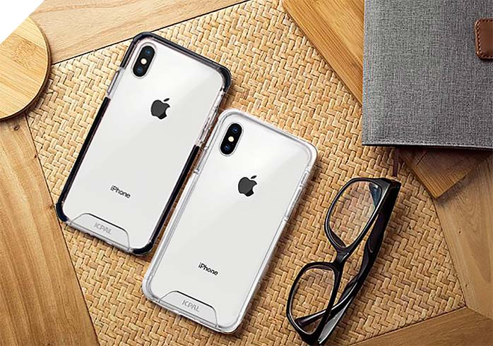 iGuard DualPro is precisely molded for iPhone Xs and Xs Max