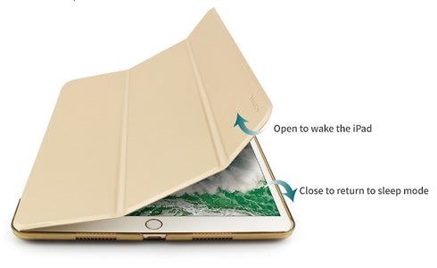 Casense Folio Case for iPad features auto sleep/wake functionality