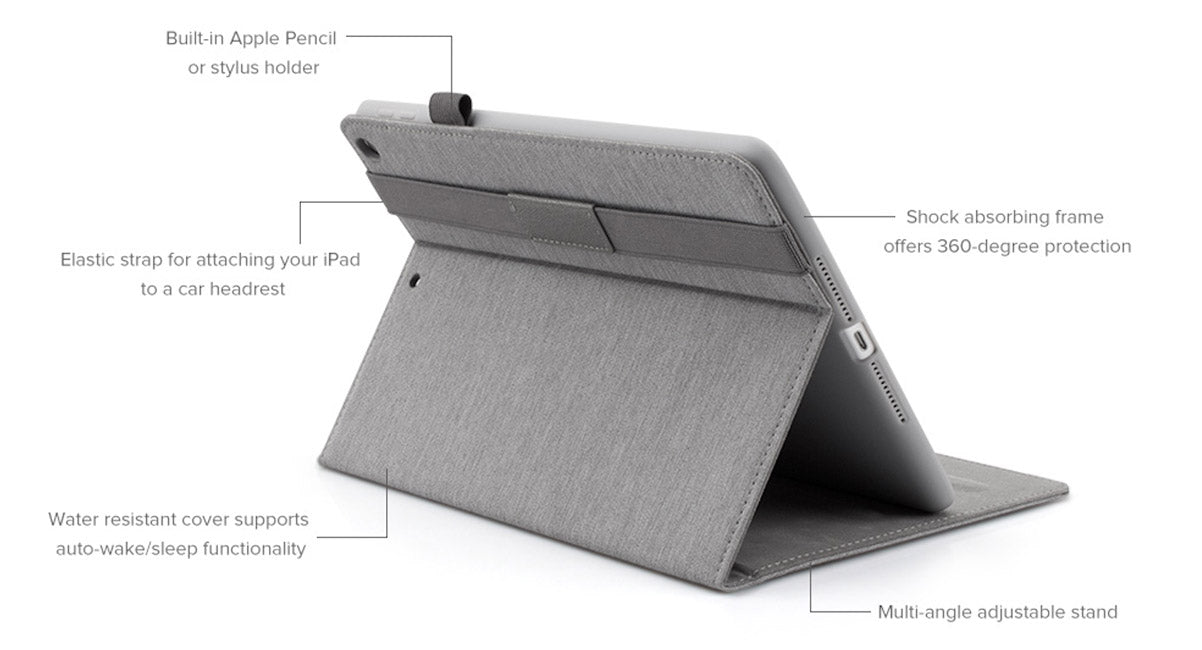 JCPal CinemaStand Case for iPad is perfect for watching movies
