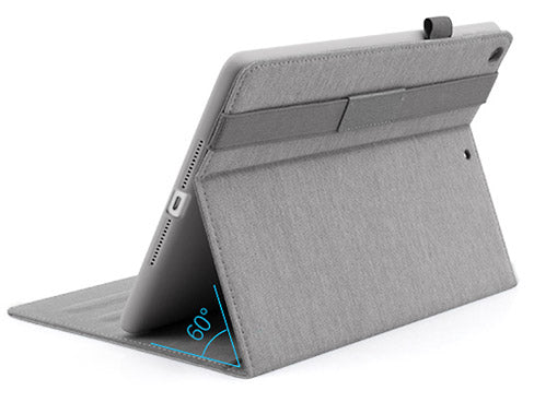 CinemaStand Case for iPad features an adjustable cover stand