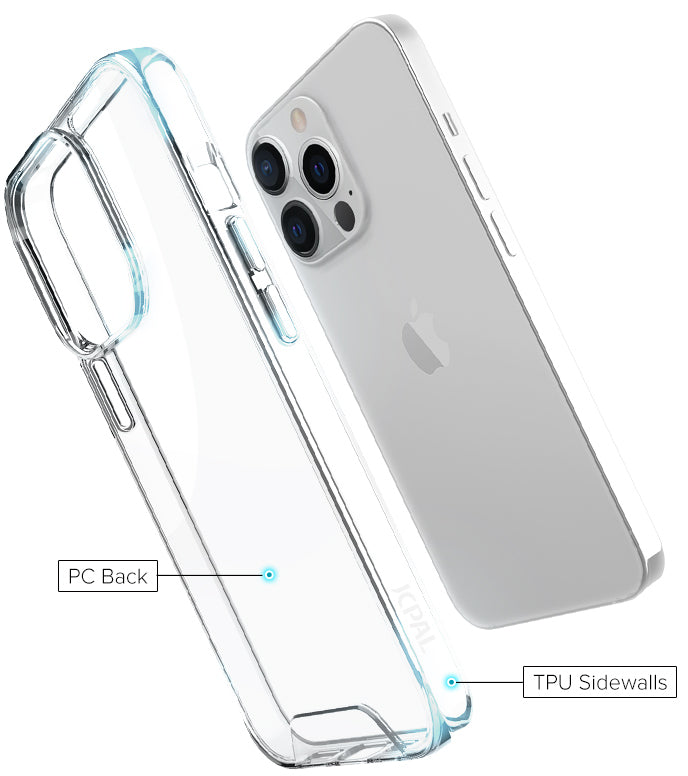 iGuard DualPro Clear Case for iPhone 13