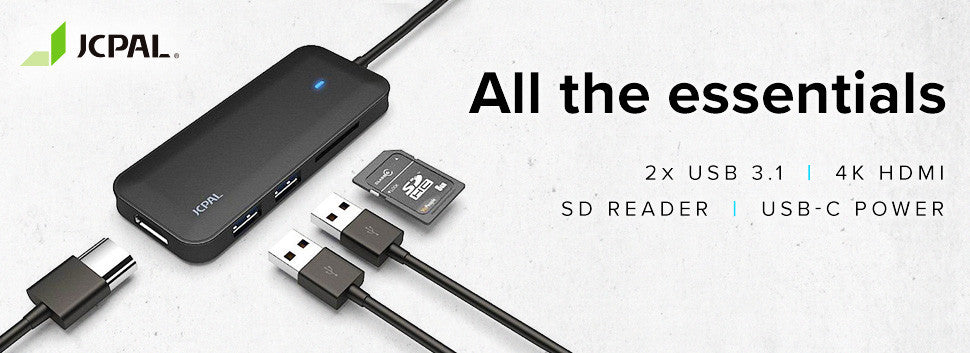 JCPal USB-C Multiport Adapter