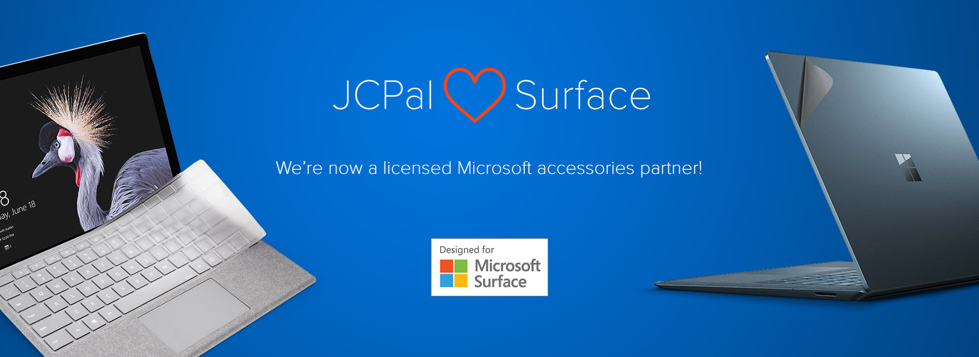 Licensed Microsoft Designed for Surface accessories partner