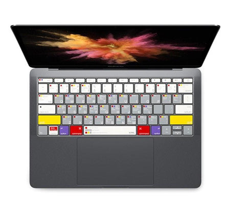 VerSkin MacOS Shortcut Guide Keyboard Protector