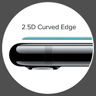 2.5D Curved Edge Glass treatment