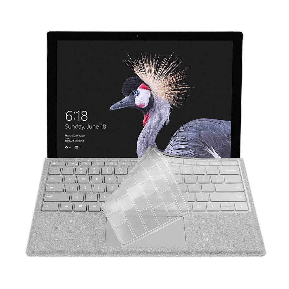 FitSkin Clear Keyboard Protector for Surface Pro 4/5/6/7