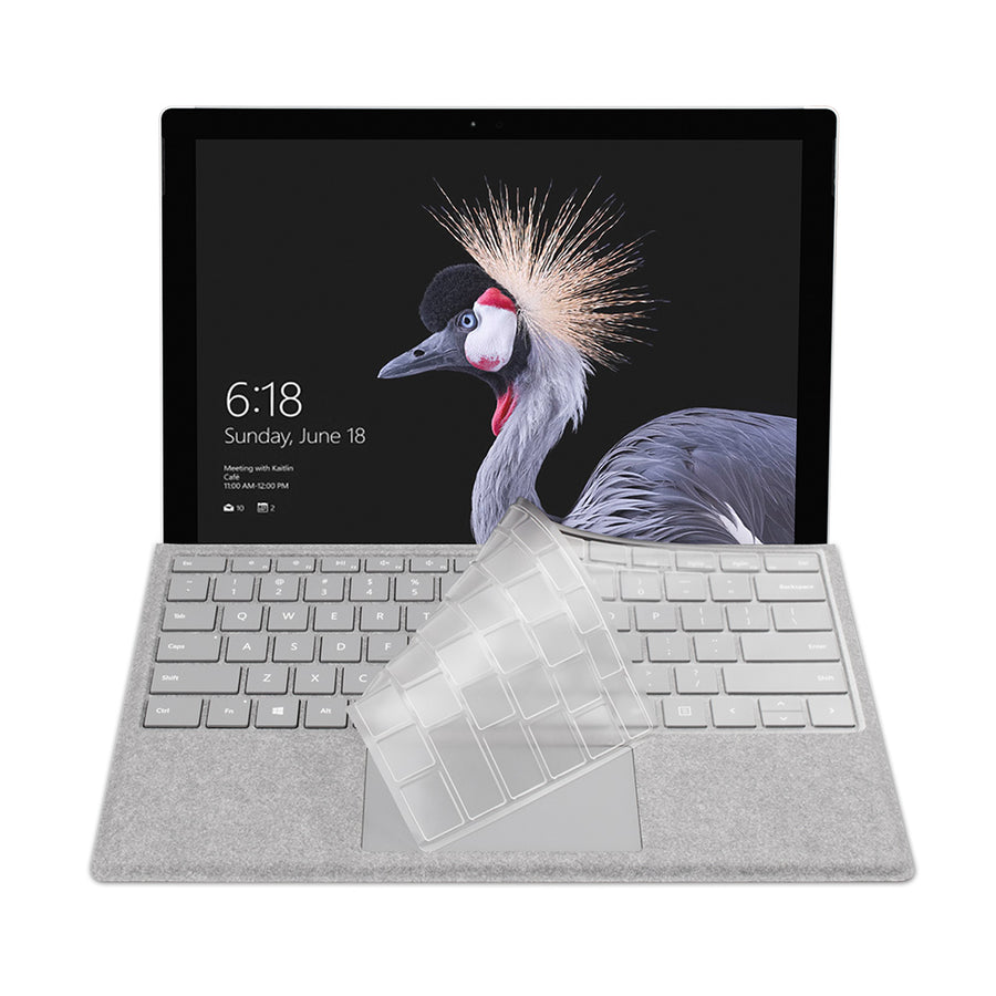 FitSkin Clear Keyboard Protector for Surface Pro
