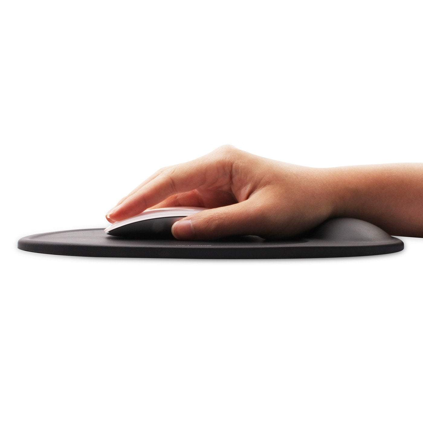 JCPal Accessories ComforPad Ergonomic Mouse Pad Black