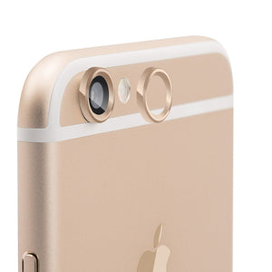 JCPal Accessories iPhone 6 Camera Lens and Touch ID protection set iPhone 6 / Gold