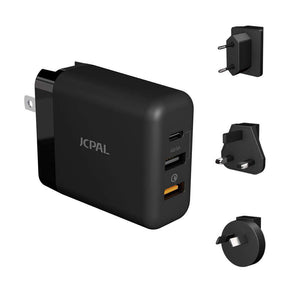 JCPal Accessories Multiport Travel Charger