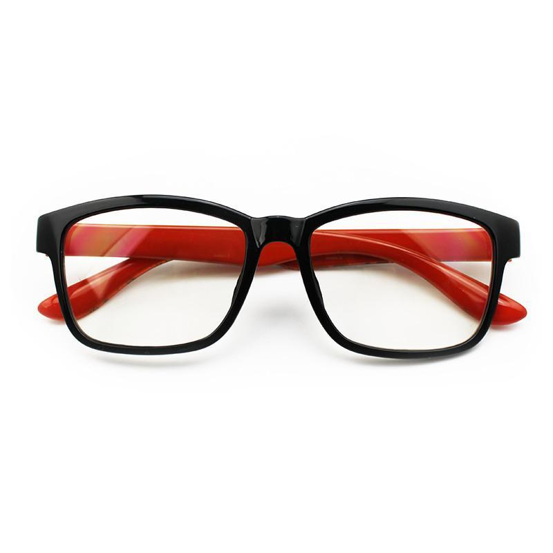 JCPal Accessories Vision Anti Blue Light Glasses Candy Red