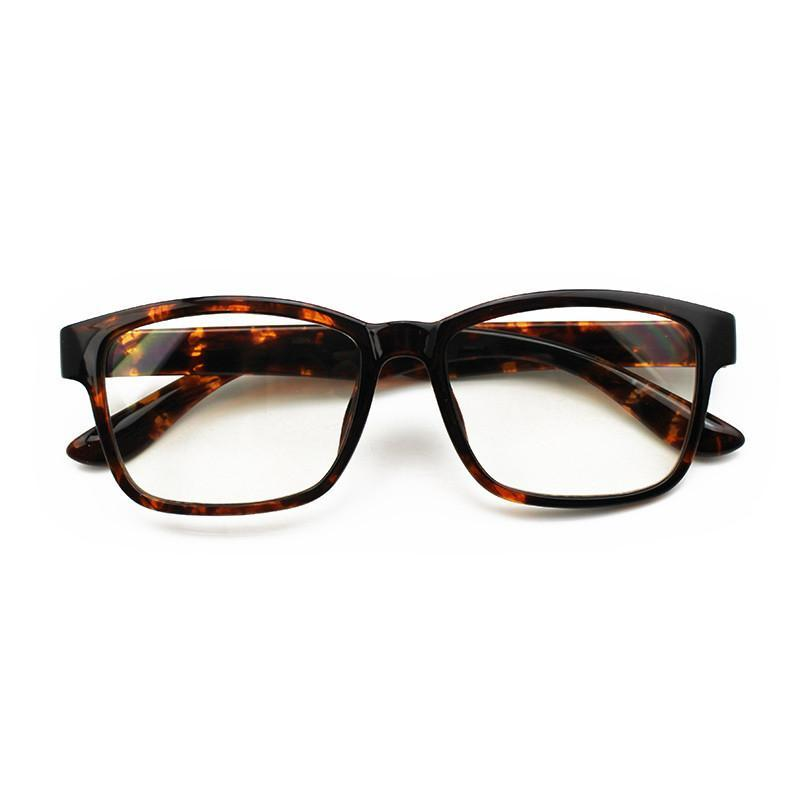 JCPal Accessories Vision Anti Blue Light Glasses Low-Key Pop Brown