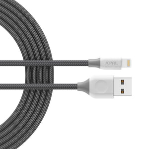 JCPal Cable FlexLink Lightning to USB Cable Gray